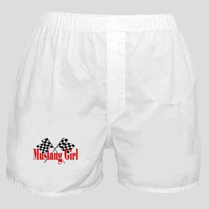 Mustang Girl Boxer Shorts