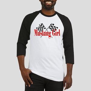 Mustang Girl Baseball Jersey