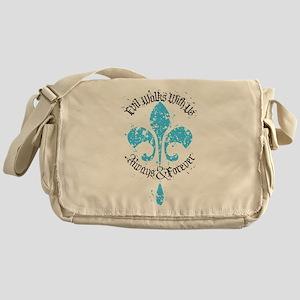 Evil Walks With Us The Originals Messenger Bag