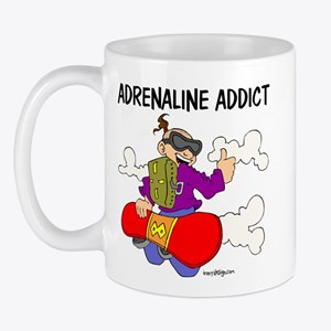 Adrenaline Addict Mug