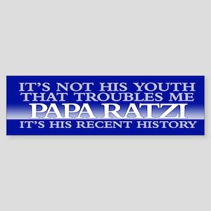 PAPA RATZI Bumper Sticker