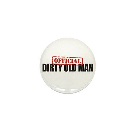 Official Dirty Old Man Mini Button (100 pack)