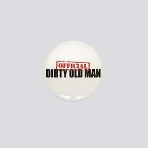 Official Dirty Old Man Mini Button