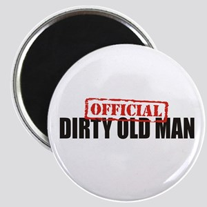 Official Dirty Old Man Magnet