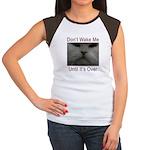 Don't Wake Me Women's Cap Sleeve T-Shirt