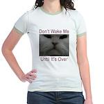 Don't Wake Me Jr. Ringer T-Shirt