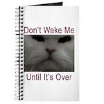 Don't Wake Me Journal