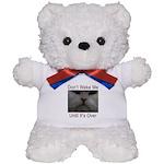 Don't Wake Me Teddy Bear