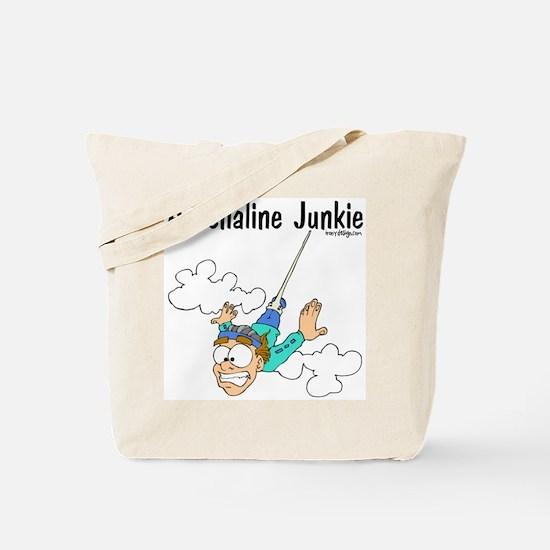 Adrenaline Junkie Tote Bag