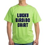 Lucky Birding Green T-Shirt