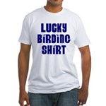 Lucky Birding Fitted T-Shirt