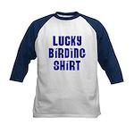 Lucky Birding Kids Baseball Jersey