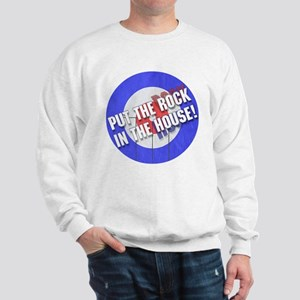 Rock In The House! Curling Sweatshirt
