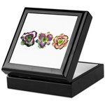 Lavender Daylilies Keepsake Box