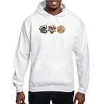 Lavender Daylilies Hooded Sweatshirt