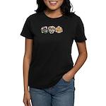 Lavender Daylilies Women's Dark T-Shirt