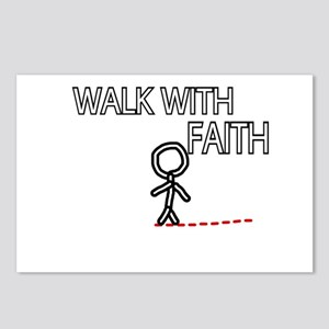 WALK WITH FAITH Postcards (Package of 8)