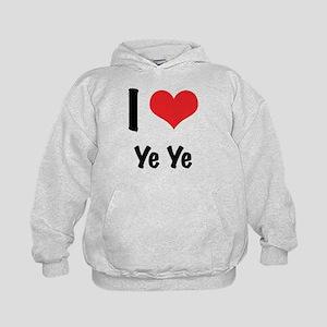 I 'heart' Ye Ye Kids Hoodie