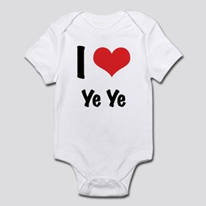 I 'heart' Ye Ye bodysuit