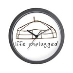 Life Unplugged Wall Clock