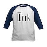 Doing Work Kids Baseball Jersey