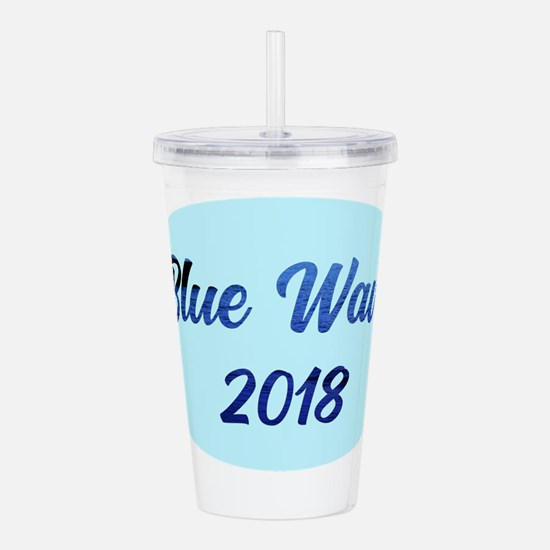 Blue Wave 2018 Acrylic Double-wall Tumbler
