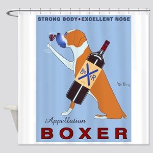 Appellation Boxer Shower Curtain