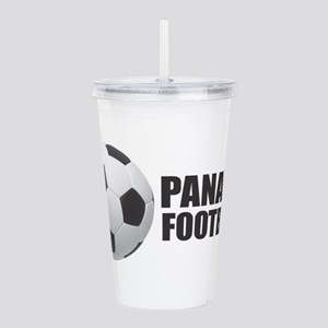 Panama Football Acrylic Double-wall Tumbler