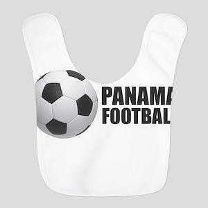 Panama Football Polyester Baby Bib