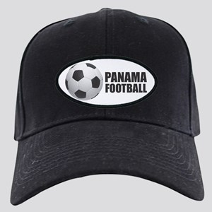 Panama Football Black Cap with Patch