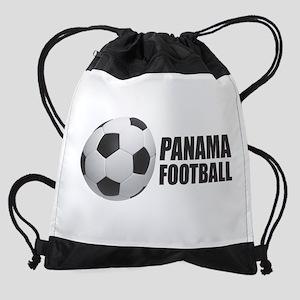 Panama Football Drawstring Bag