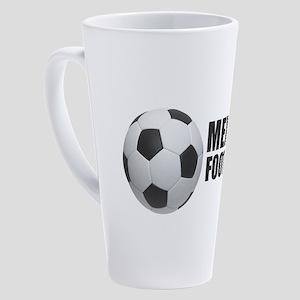 Mexico Football 17 oz Latte Mug