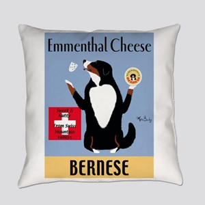 Bernese Emmenthal Cheese Everyday Pillow