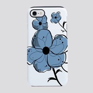 Modern fashionable black and iPhone 8/7 Tough Case