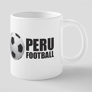 Peru Football Mugs