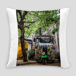 tuktuk art Everyday Pillow