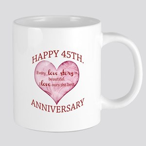 45th. Anniversary Mugs