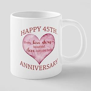 45th. Anniversary Mugs