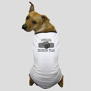 Louisiana Drinking Team Dog T-Shirt