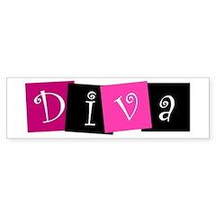 DIVA Design! Bumper Bumper Sticker