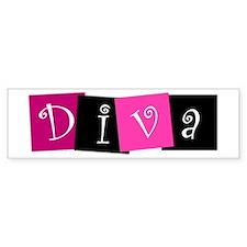 DIVA Design! Bumper Sticker