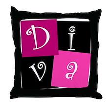 DIVA Design! Throw Pillow