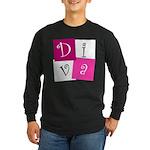 DIVA Design! Long Sleeve Dark T-Shirt