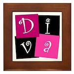 DIVA Design! Framed Tile