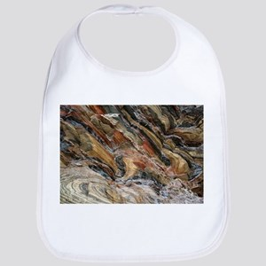 Rock swirls in nature Baby Bib
