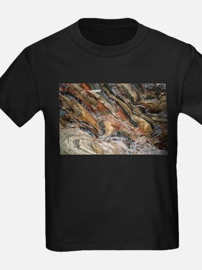 Rock swirls in nature T-Shirt