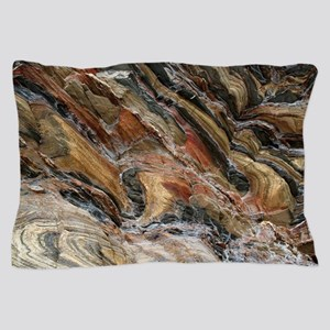Rock swirls in nature Pillow Case