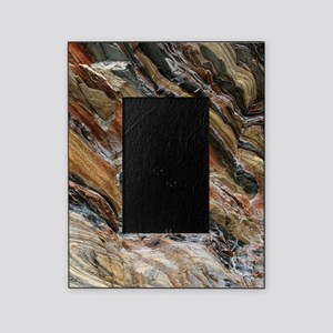 Rock swirls in nature Picture Frame