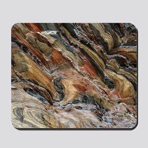 Rock swirls in nature Mousepad