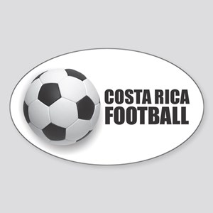Costa Rica Football Sticker